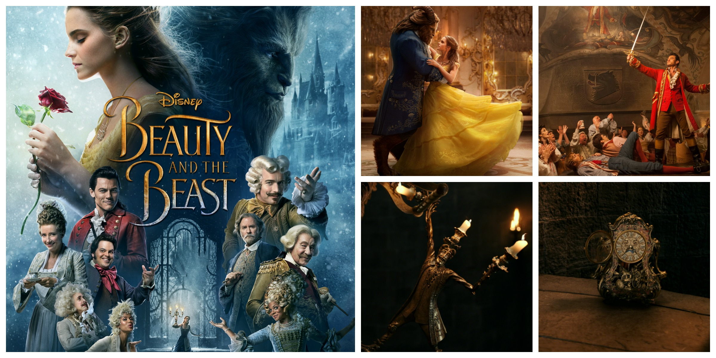 Beauty and The Beast Newest TV Spot - See Emma Watson sing Belle #BeOurGuest  #BeautyAndTheBeast