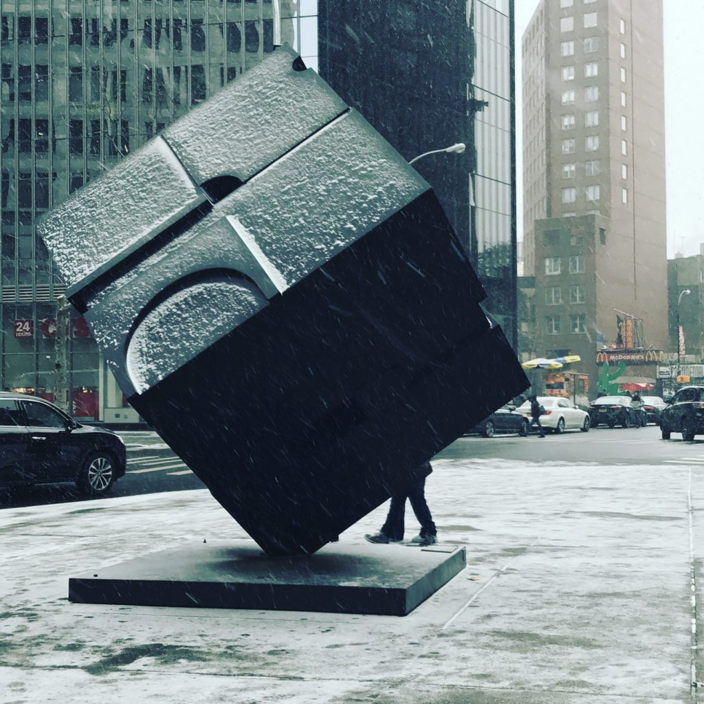 """Astor Place Cube"""