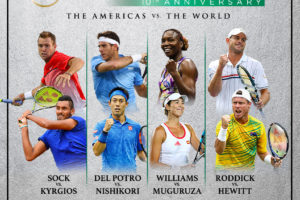Discount Ticket Offer: BNP Paribas Showdown Tennis with Tennis Greats Venus Williams and Andy Roddick @TheGarden Coming March 6