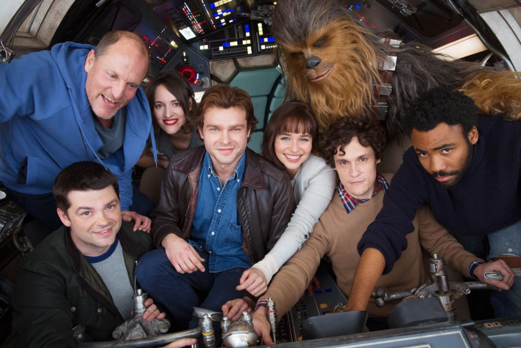 First Photo From the Untitled Han Solo Star Wars Movie