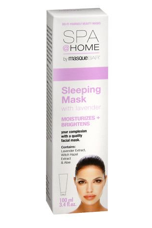 Spa & Home by Masque Bar sleeping Mask with Lavender