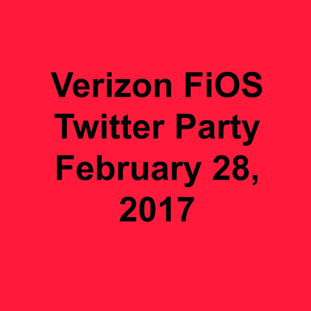 Don't Miss @VerizonFiOS Twitter Party coming February 28 - Amazon Echo personal assistant will be given away during the event