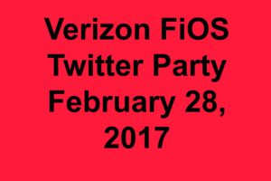 Don't Miss @VerizonFiOS Twitter Party coming February 28 – Amazon Echo personal assistant will be given away during the event