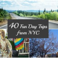 40 Day Trips from New York City #NYC
