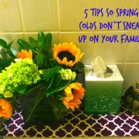 5 Tips So Spring Colds Don't Sneak Up On Your Family #ShareKleenexCare  @walmart #ad