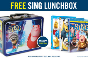 Head to Best Buy for all your kids and family movies & Free Sing Movie Lunchbox Offer @BestBuy #bbymovies #ad