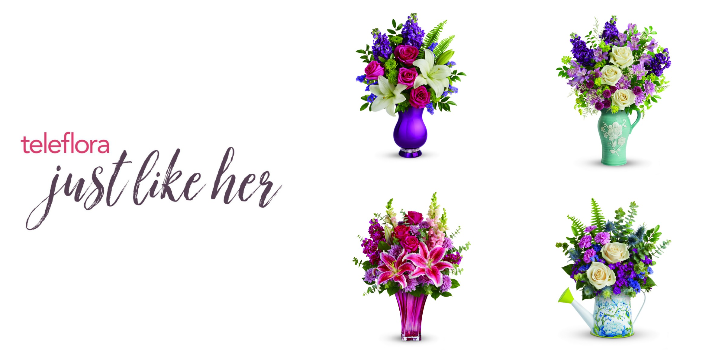 GIVEAWAY: Honor Mom This Mother's Day with Teleflora's Handmade Bouquets #ImJustLikeHer #Teleflora