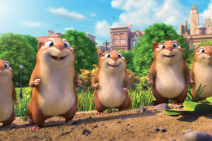 Get Ready. Get Set. Get NUTS! THE NUT JOB 2: NUTTY BY NATURE Hits Theaters August 11