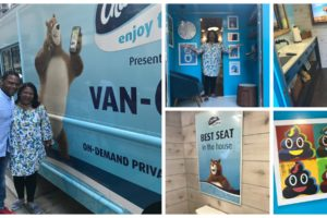 "Going ""On the Go"" with Charmin Van-GO On-Demand Mobile Bathroom Service @Charmin #EnjoyTheGo #ad"