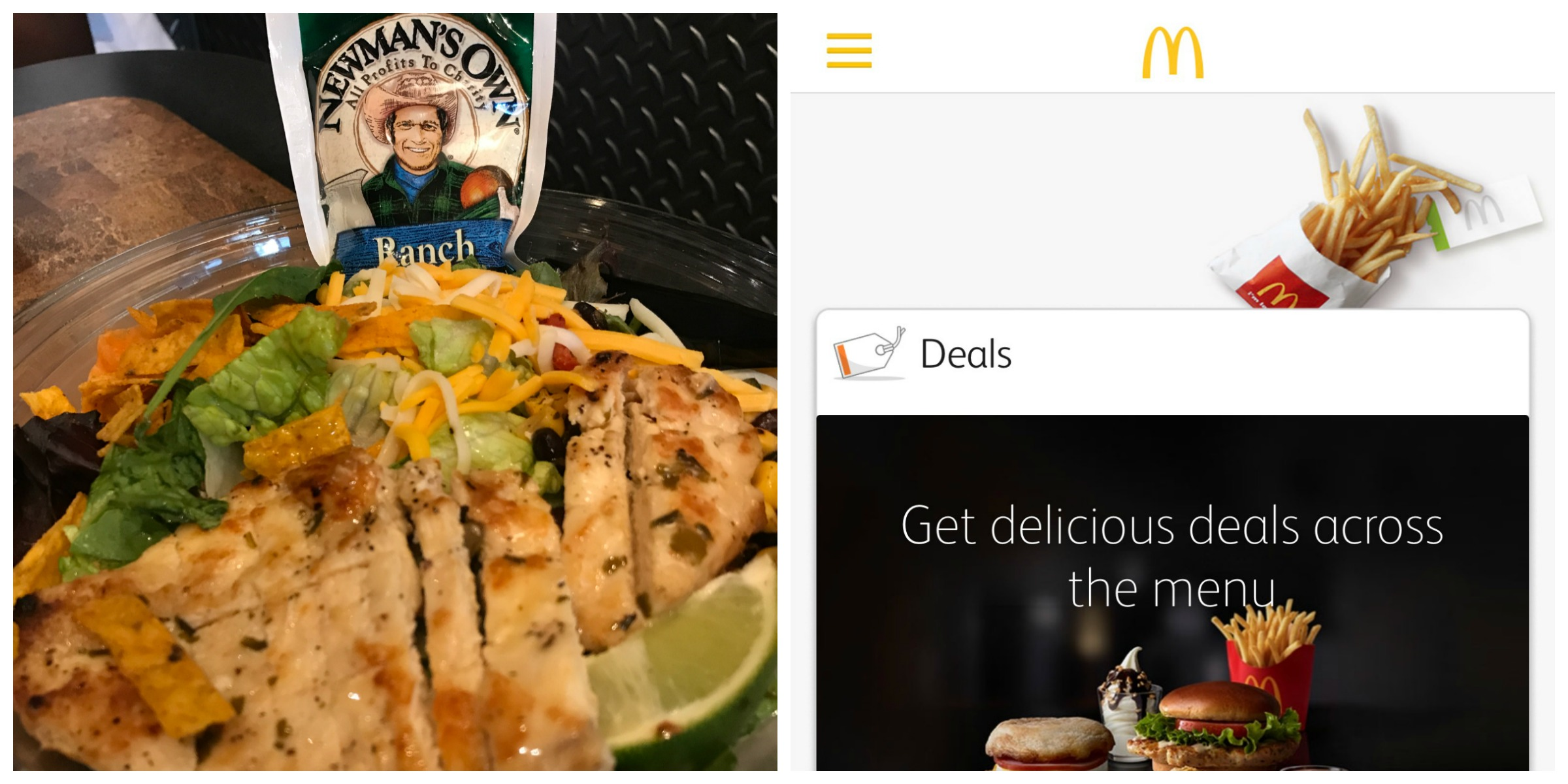 McDonald's Premium Salads Offers a Light and Refreshing Meal #McDonaldsQuality #IC ad  @McDNYTristate