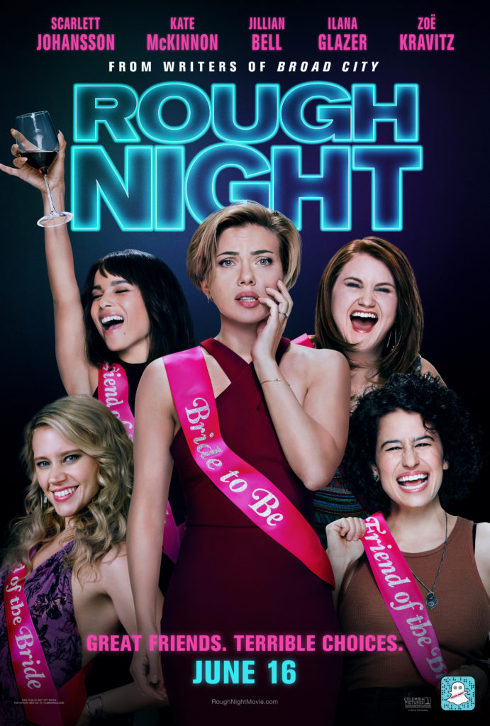 REVIEW: Rough Night Starring Scarlett Johansson