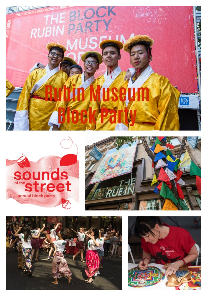 """Rubin Museum Block Party"""