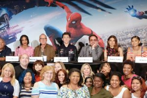 Spider-Man: Homecoming Cast and Crew Press Junket #SpidermanHomecoming