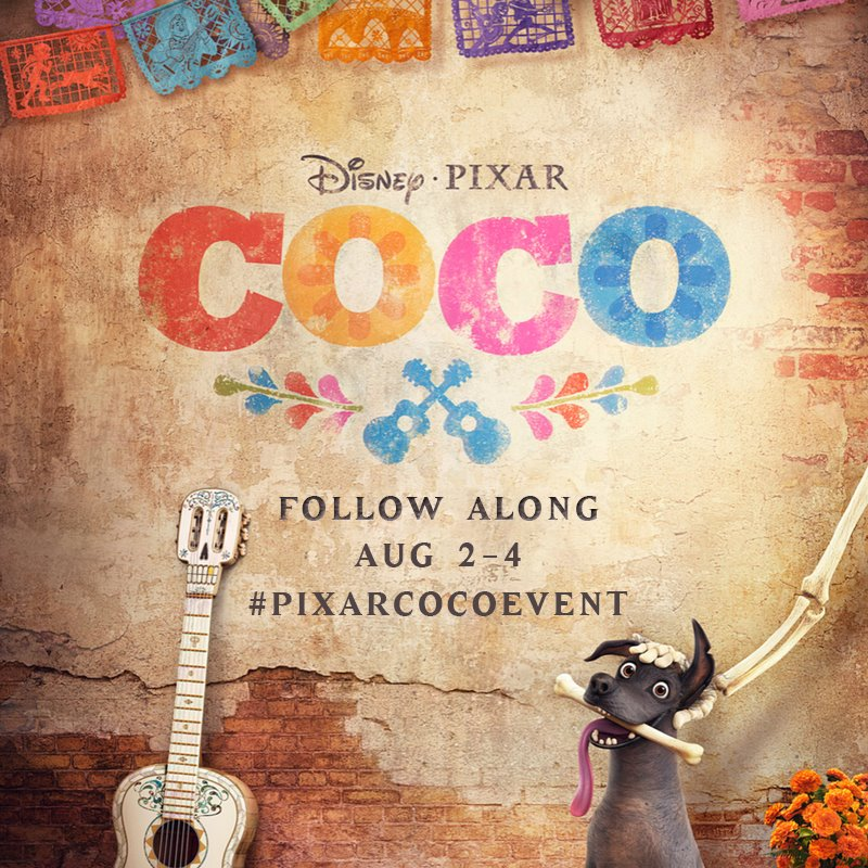 Disney Pixar COCO Movie Event