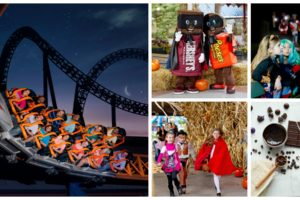Halloween in Hershey Offers Guests Treats, Candy, Coasters and Creatures and No Tricks #HersheyParkHappy #SweetestPlaceonEarth