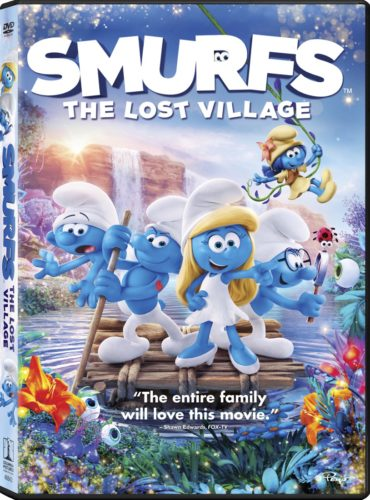 GIVEAWAY: Smurfs: The Lost Village is Now Available