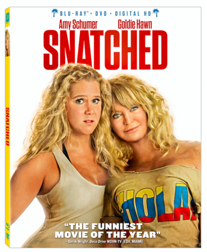 Snatched Blu-Ray DVD Digital HD Movie Giveaway