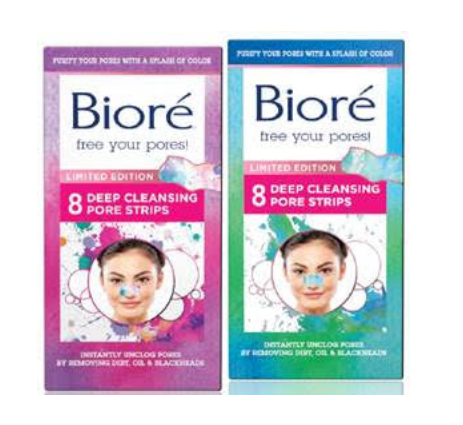 GIVEAWAY: A Splash of Color Makes The New Bioré Limited Edition Pore Strips A Fun Way to Cleanse Your Face