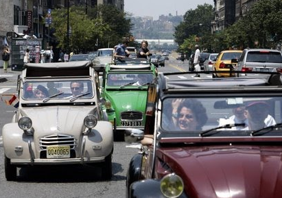 Bastille day rally and rendez vous featuring french for Rendez vous garage citroen