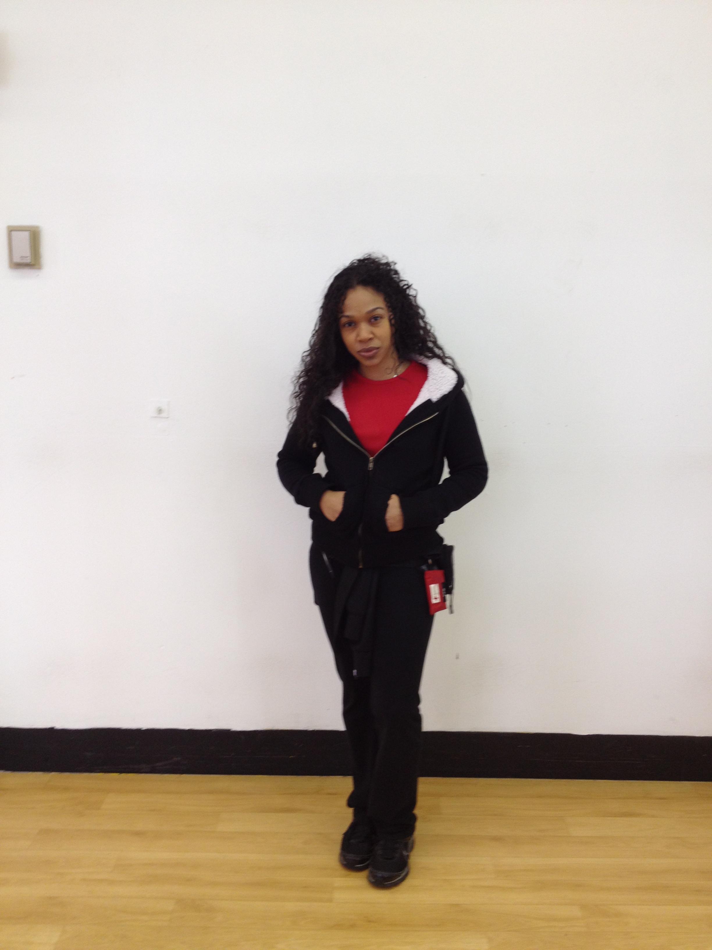 lucille robert 39 s trainer christine nyc single mom. Black Bedroom Furniture Sets. Home Design Ideas