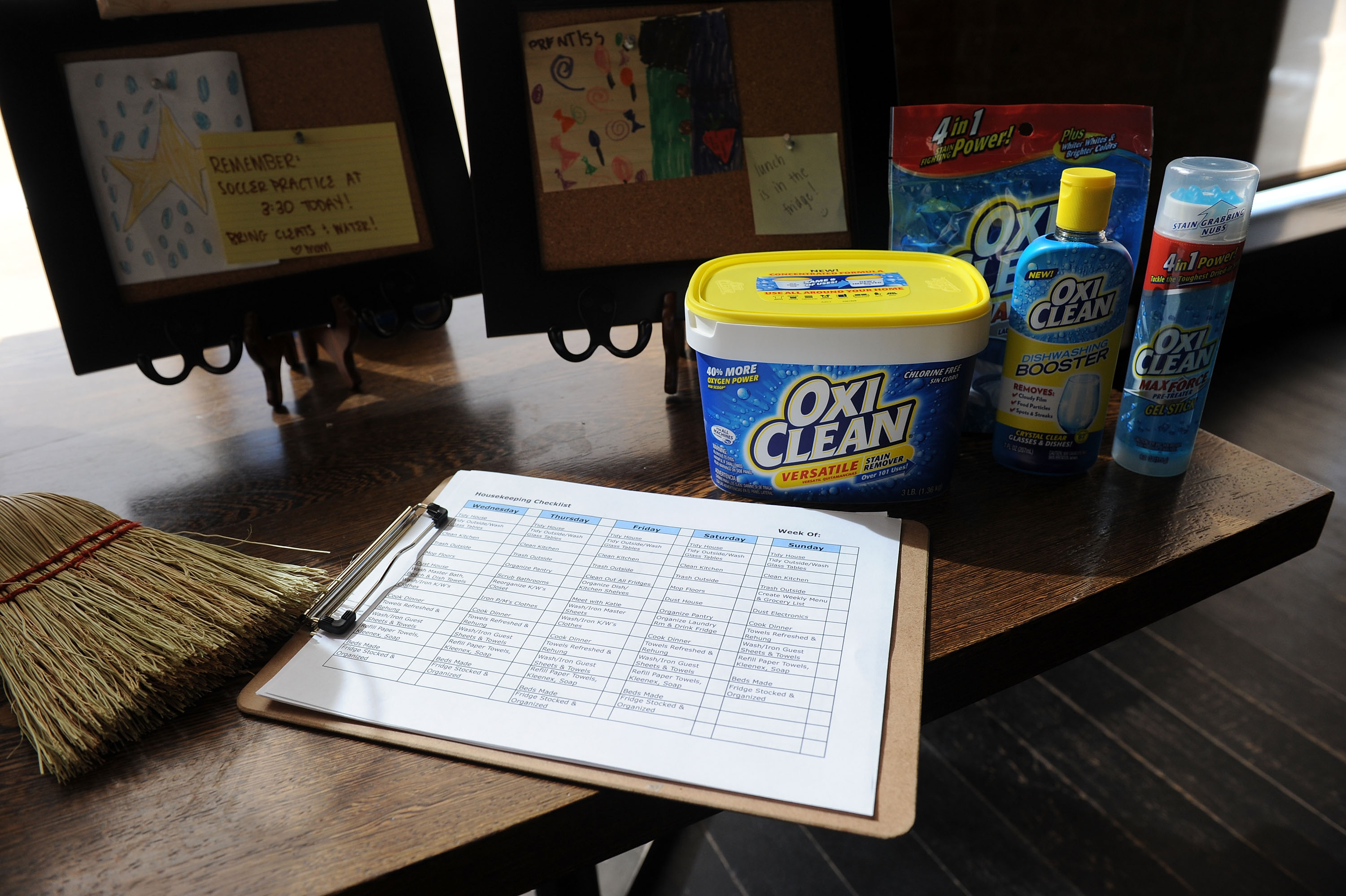 how to clean your deck with oxiclean