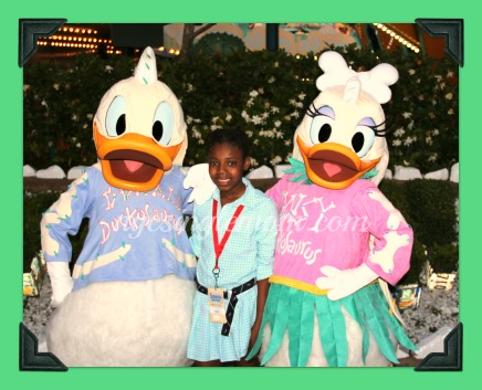 Donald And Daisy Duck in Disney World – Wordless Wednesday