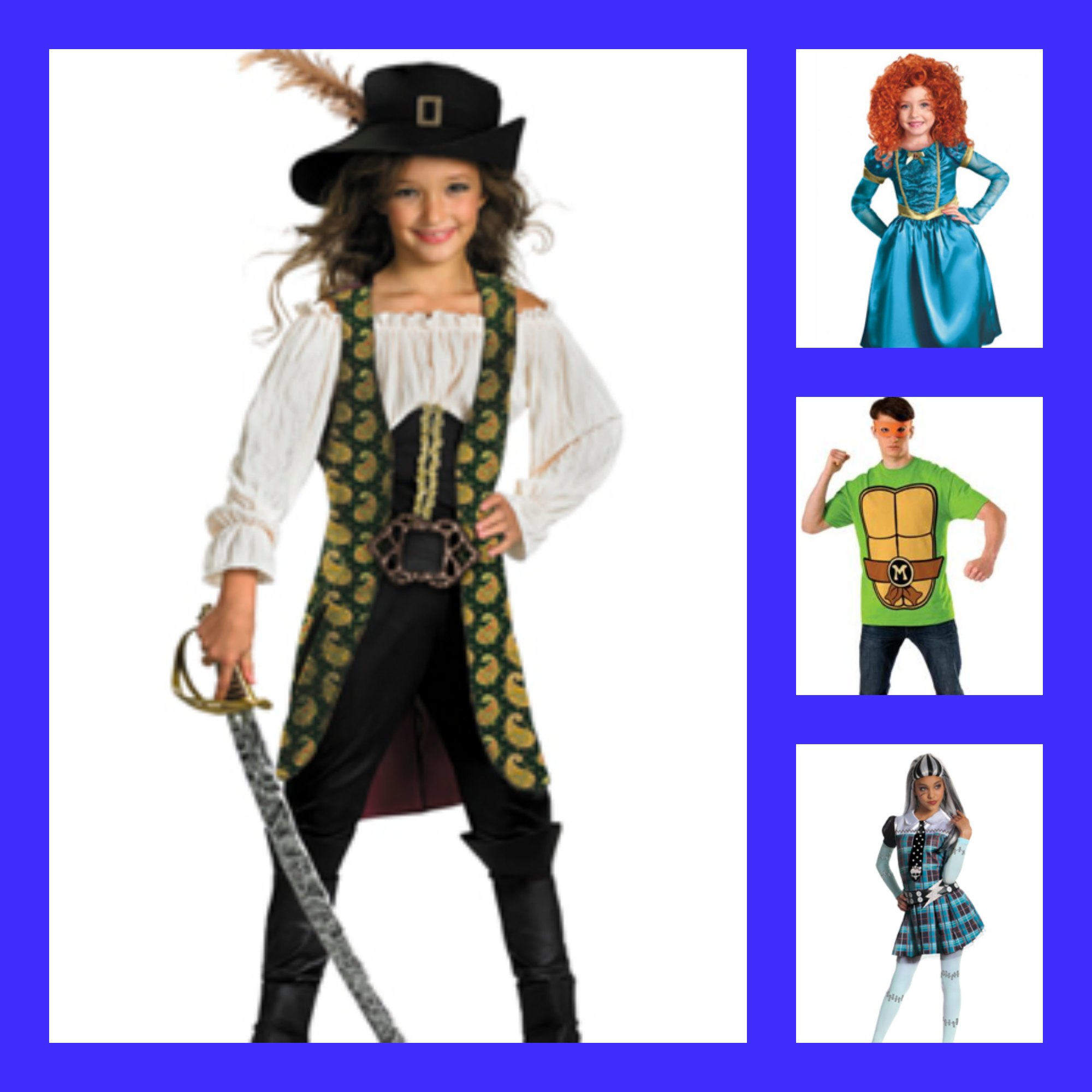 Head to Spirit Halloween for all your Costumes Needs