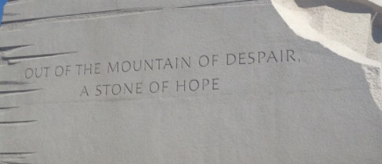 MLKStoneOfHope