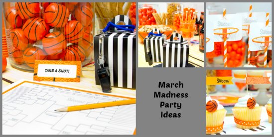 March Madness Party Ideas #MarchMadness