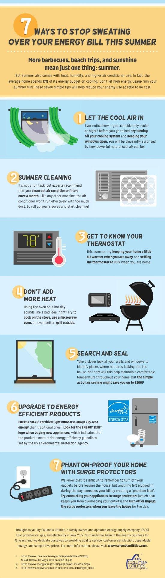 7 Summer Energy Saving Tips Nyc Single Mom