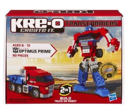 KRE-O Transformers Optimus Prime Construction Set