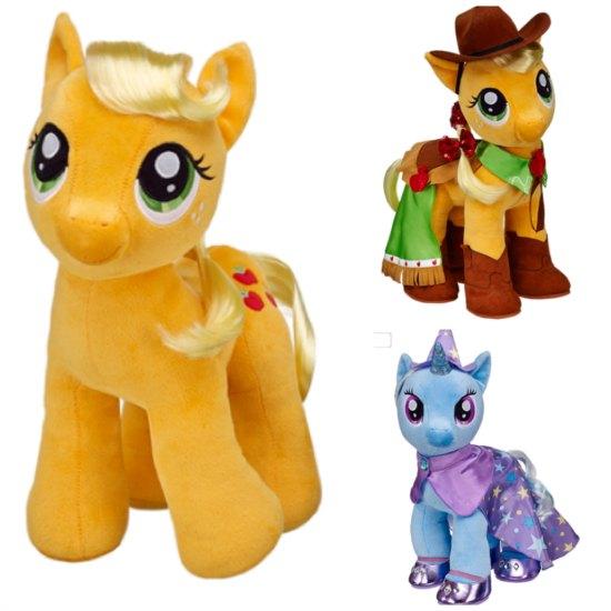 Celebrate Build a Bear My Little Pony newest friends @BuildaBear #MLP #BABWMLP