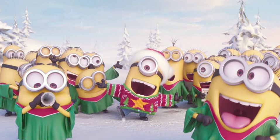 Minions Holiday Video and Digital Greeting Card Maker #FandangoFamily