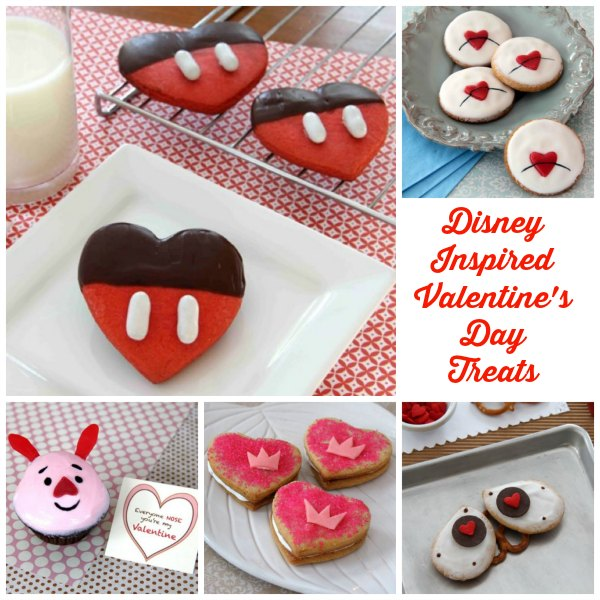 Disney Inspired Valentine's Day Treats
