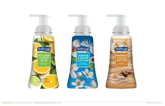 Softsoap Fragrant Foaming Collection Hand Soap Line