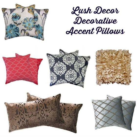 Update Your Home With Lush Decor Decorative Accent Pillows Classy Lush Decor Decorative Pillows