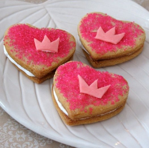 Valentines Heart Cookies Nyc
