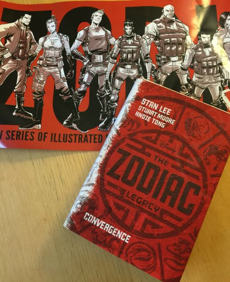 Stan Lee's The Zodiac Legacy: Convergence is a  brand new, magical, super-powered adventure Book #ZodiacLegacy @DisneyHyperion
