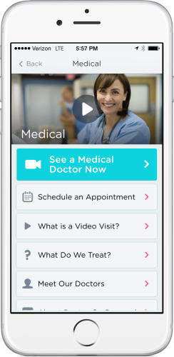 iPhone-Medical, Doctor on Demand