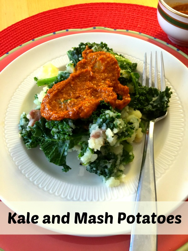 Quick and Easy Kale and Mashed Potatoes Recipe