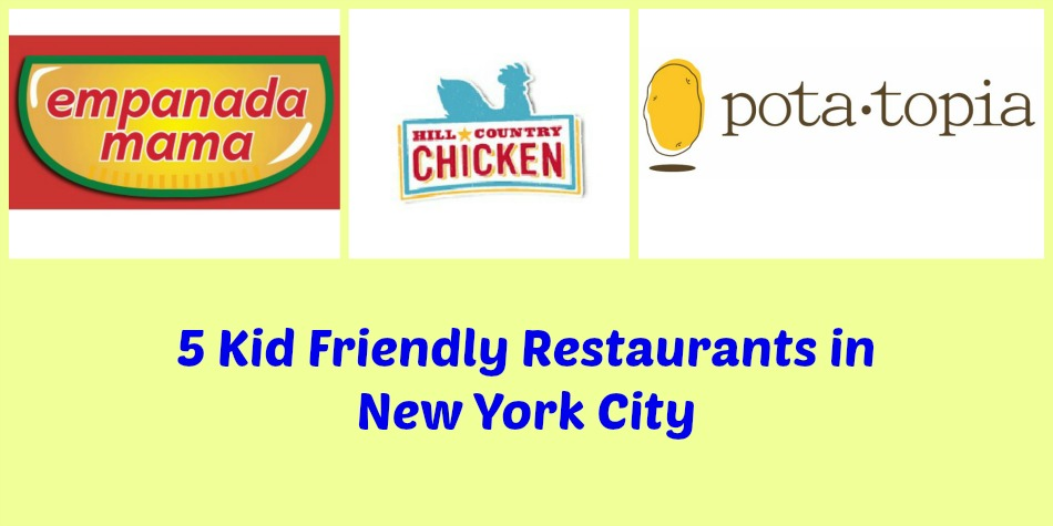 5 Must Visit Kid Friendly Restaurants in New York City #nyc