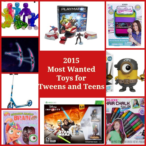2015 Hot Toys for Tweens and Teens