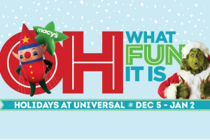 Spend the Holidays at Universal Orlando @UniversalORL