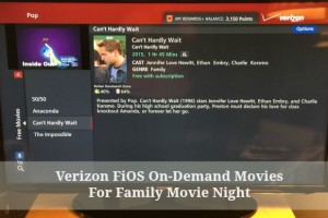 Verizon FiOS On-Demand is the Number 1 Tip To Having The Perfect Family Movie Night @VerizonFiOS #FiOSNY #ad