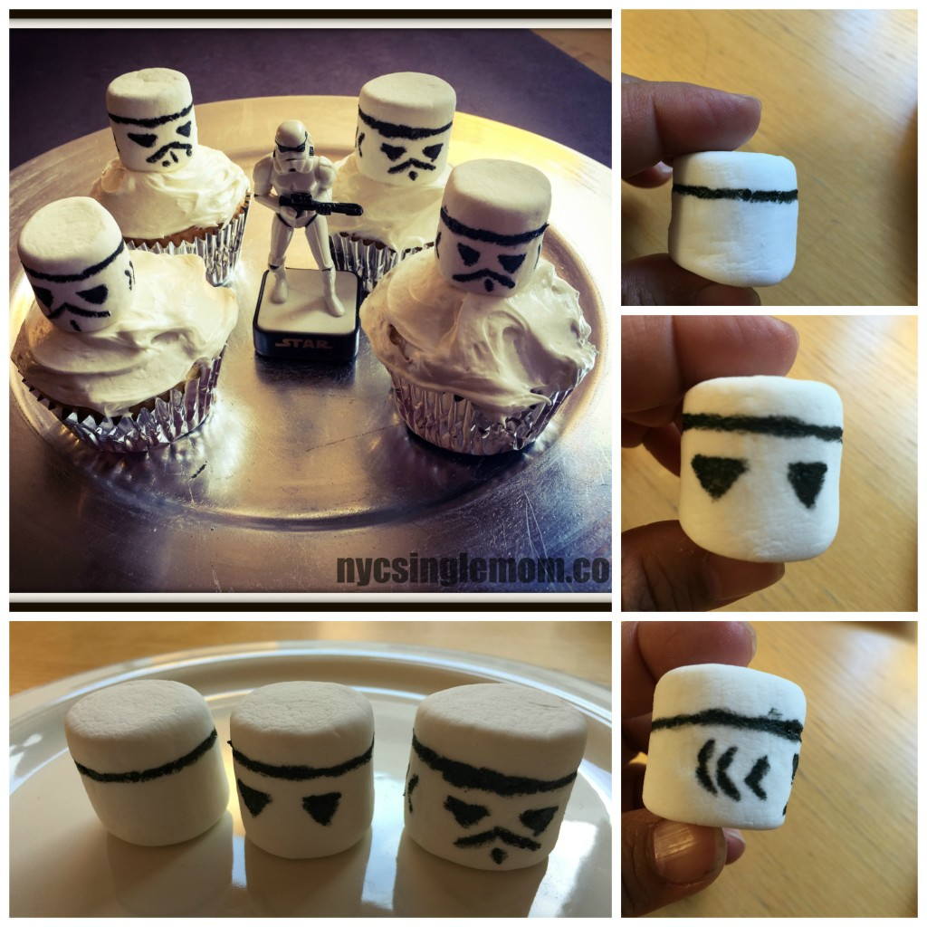 """How to Make Stormtrooper Cupcakes for a Star Wars Viewing Party"""