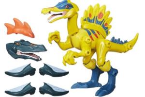 Jurassic World Spinosaurus Hero Masher Figure @HasbroNews #JurassicWorld