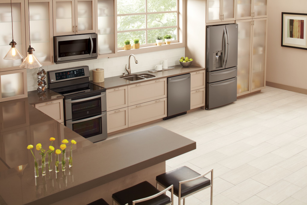 kitchen designs with stainless steel appliances lg s limitless design event celebrating the launch of 606