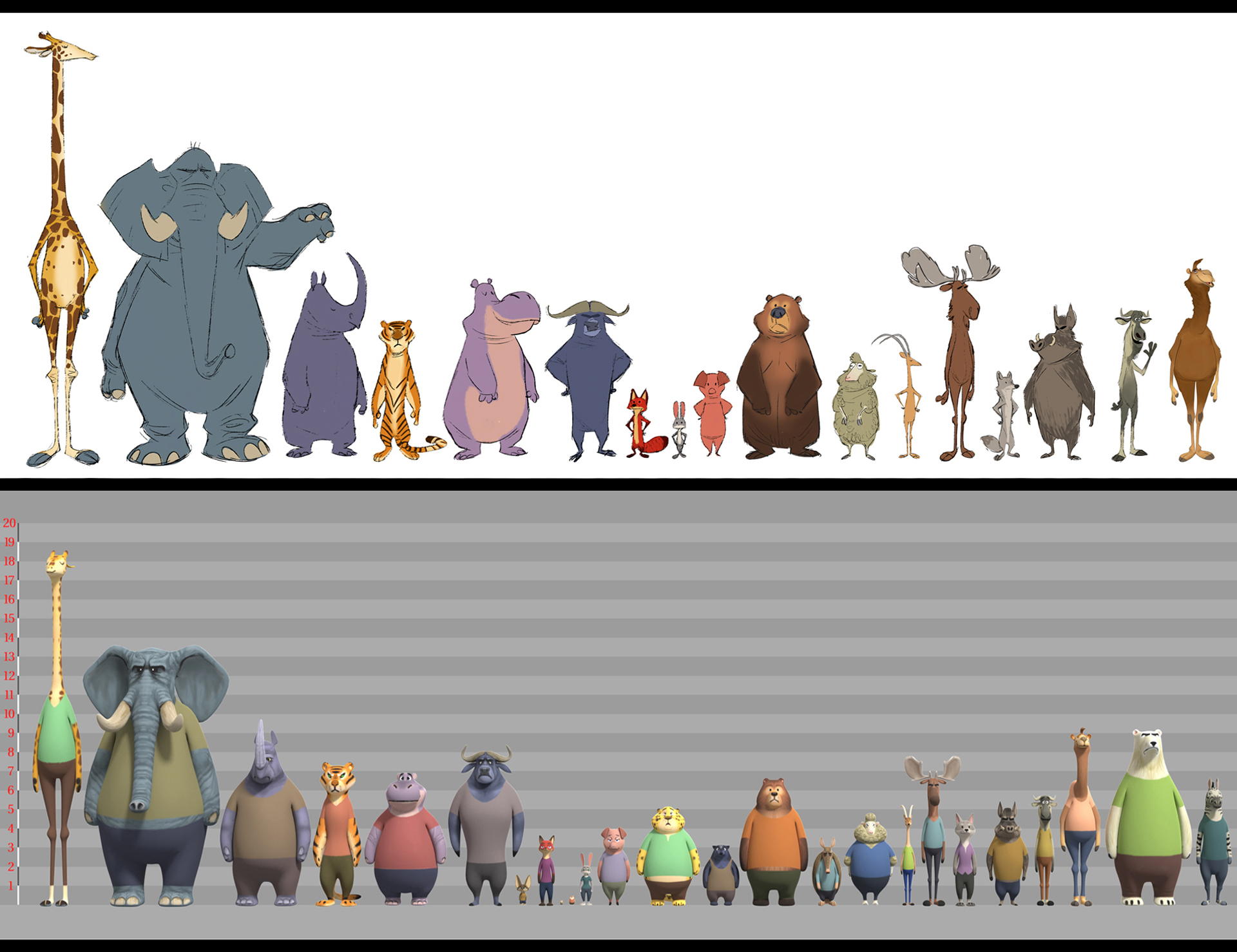 disneyzootopia art director of characters cory loftis talks creating zootopia animals and. Black Bedroom Furniture Sets. Home Design Ideas