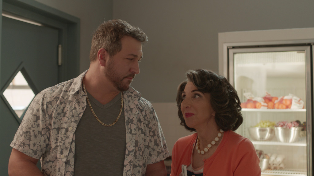 Cousin Angelo Joey Fatone Gets Some Love From Aunt Voula Andrea Martin