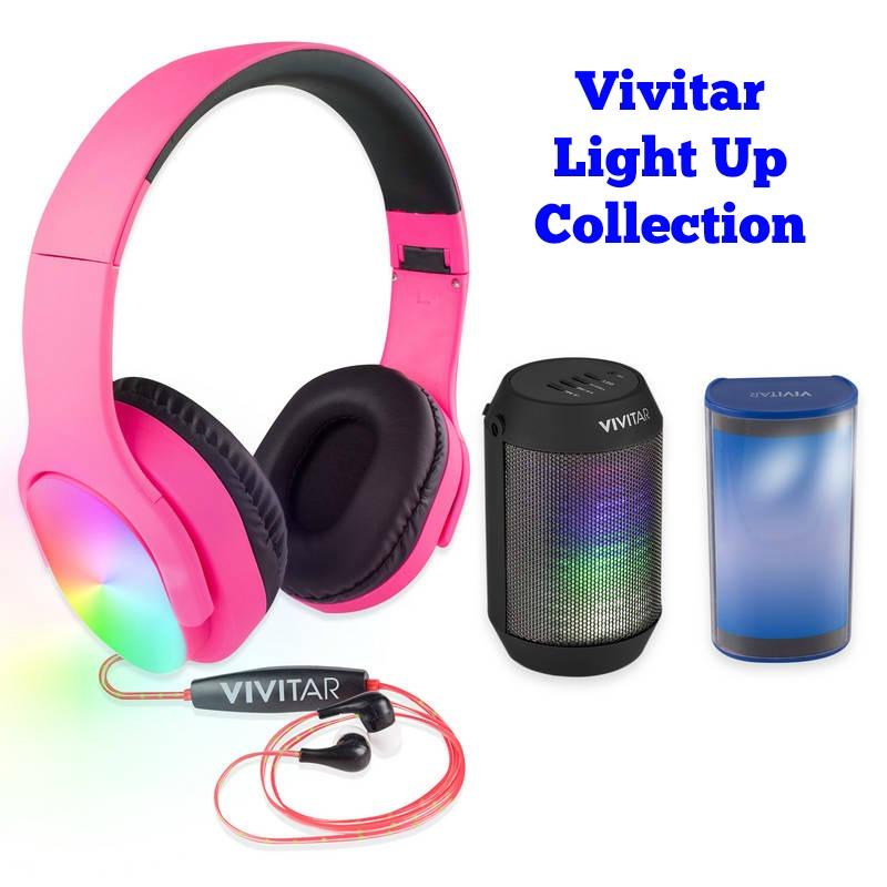 Vivitar get loud bluetooth earphones - earphones bluetooth a par set